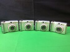 Lot Of 4 Canon Powershot A520 4.0 Megapixel Digital Camera.For Parts Or Repair.