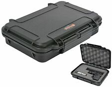 Waterproof Handgun Case Pistol Case with Pre-Cubed Foam Elite EL008 Gun case +