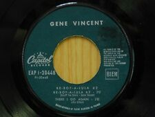 Gene Vincent 45 EP Be Bop A Lula on Capitol French