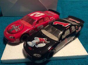 Dale Earnhardt Jr & Sr. - Winners Circle Hasbro #3 & #1 Coca Cola 1:24 NASCAR