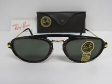 New Vintage B&L Ray Ban Traditionals Tortoise Black G-15 W1541 Premier USA NOS