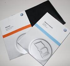 Genuine VW TRANSPORTER CARAVELLE  HANDBOOK OWNERS MANUAL WALLET 2015-2017 RADIO