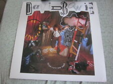 David Bowie 1987 Never Let Me Down 12x12 Promo Cover Flat Poster Double Sided