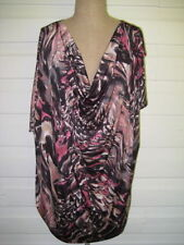 Polyester Evening, Occasion Tunic Multi-Colored Tops & Blouses for Women