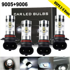 Combo 9006 + 9005 LED Headlight 4400W 790000LM High/Low Beam Kit 6000K HID Lamp