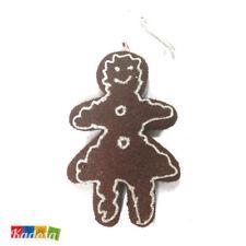 Decorazioni Biscotto OMINO PAN DI ZENZERO Albero di Natale addobbi da appendere