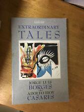 LIBRO EXTRAORDINARY TALES BORGES CASARES ALLISON & BUSBY 1973