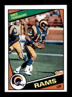 1984 Topps #283 Vince Ferragamo   NM/NM+ X1450488