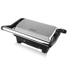 Premium 2 Slice Panini Press Grill Sandwich Maker Opens fully flat 180 degrees