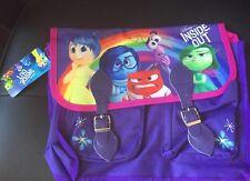 Childrens Disney Inside Out Messenger Satchel School Bag
