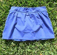 "Lands End 13"" Modest Swim Skirt - Built In Panty - Royal Blue - Womens 6"
