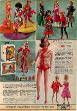 1971 ADVERTISEMENT Doll Barbie PJ Talking Growin' Hair Flip Wilson Mrs Beasley