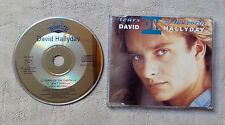 "CD AUDIO INT/ DAVID HALLYDAY ""TEARS OF THE EART"" CD MAXI PROMO 1990 SCOTTI BROS"