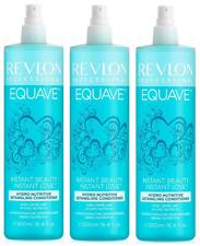 3 x Revlon Equave Hydro Nutritive Detangling Conditioner 500ml.Free P&P