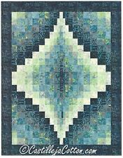 Bargello Jewel quilt pattern by Castilleja Cotton for Checkers