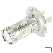H7 30W White 6 CREE LED Fog Light for Vehicles, DC 12-24V