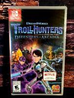 Trollhunters Defenders of Arcadia-Nintendo Switch - Region Free-Brand New Sealed