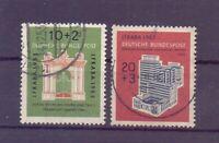 Bund 1953 - IFRABA - MiNr. 171/172 rund gestempelt - Michel 55,00 € (110)