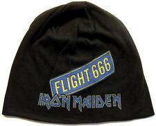 """IRON MAIDEN JERSEY BEANIE # 5 / MÜTZE / CAP """"FLIGHT 666"""""""