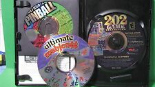 PC Gaming 202 Game Collection & Ultimate Mahjongg & Ultimate Pinball - 3 Discs