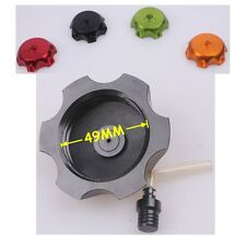 Black CNC Fuel Cap Gas Tank Cap For ATV Dirt Bike TAOTAO SSR ROKETA