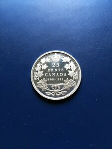 1908-1998 Canadian Silver 25 Cents, No Reserve!