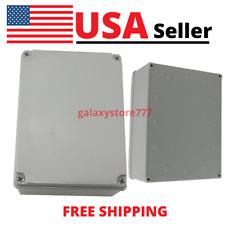 Plastic Junction Box Diy Case Electrical Enclosure Dustproof Ip65 8x 6x 4