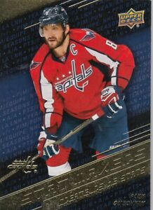 ALEX OVECHKIN NO:SM-8 STAT MAKERS in UPPER DECK TIM HORTONS 2017-18  LOT6     a