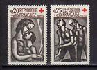 FRANCE FRANCIA 1961 Au Profit de la Croix-Rouge MNH**