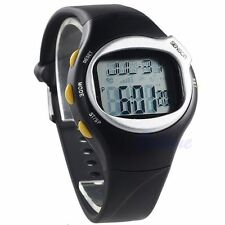 Gym Fitness Watch Pulse Heart Rate Monitor Calorie Counter Sport Running Jogging