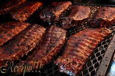 "☆Tender☆Triple Liquor Baby Back Ribs ""RECIPE""☆Summer BBQ Grilling/Baking~Yummy!☆"