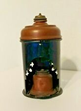 Antique French Glue Pot - Heater - Copper/Tin - For Piano/Cabinetmakers - RARE