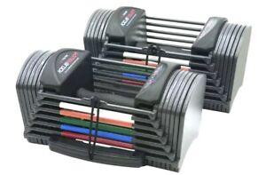 FAST SHIP 🚚💨 PowerBlock Sport 24 Adjustable Dumbbell, 24lbs PAIR Set of 2 NEW