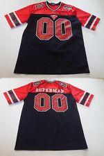 Men's Superman #00 M Jersey (Black/Red) Marvel Jersey