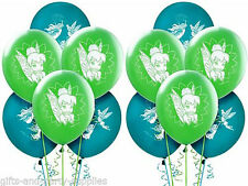 Disney Fairies TinkerBell Latex Balloons ~12 Birthday Party Supplies Tink Decor