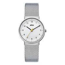 Braun Damen BN0031 klassisch Uhr mit Lederband SLBGL 66567