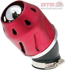 Luftfilter Grenade rot gewinkelt 42mm Anschluss-Explorer,Baja,PGO,Meteorit,Aeon