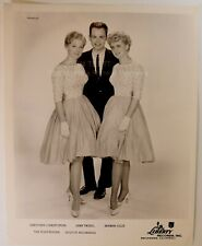 Original 1950's 8x10 Publicity Photo The Fleetwoods Rock