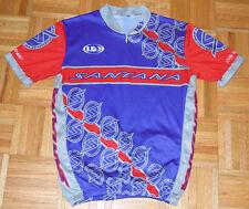 Louis Garneau Santana Cycling Jersey Biking Bike Tagless Half Zip Racing Design