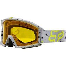 Maschera Fox Main Mx Goggles Nirv Grey Yellow Grigio Giallo Cross Enduro DH