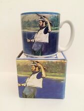 NOS~ Fly Fishing Mug Coffee Cup Potpourri Press 1989 FISHERMAN Trout  New in Box