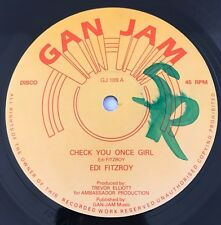 EDI FITZROY Check Your Once Girl Gan -Jam Monster Roots 12'!!!
