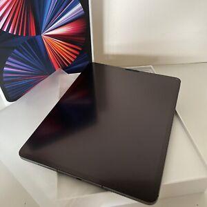 "Apple iPad Pro 12.9"" Inch 5th Gen 128GB (2021) Wi-Fi and 5G Space Grey Unlocked!"