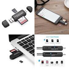 Vanja Sd/Micro Sd Card Reader, Micro Usb Otg Adapter And Usb 2.0 Portable Memory