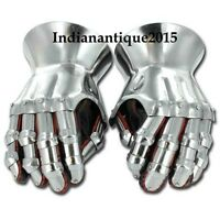Steel Gothic Medieval Gauntlet Gloves Armour Functional