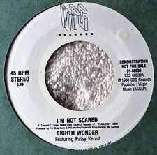 Eighth Wonder Patsy Kensit I'm Not Scared US Issue DJ Promo Dance Thump Pop 45 7