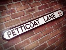 Petticoat Lane Old Fashioned London Vintage Street Sign Market Road Sign
