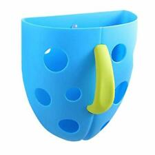 Bath Toy Organizer Bathtub Toys Holder Baby Toddler Kids Boy Blue Suction Cups