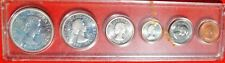 1964 Canada 6-Coin Proof-Like Set Original Backing Not Sealed  X