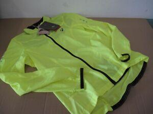 Bontrager Bontrager Race Windshell Packable Jacket Hi Vis Yellow Full Zipp New